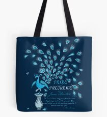 Paisley Peacock Pride and Prejudice: Classic Tote Bag