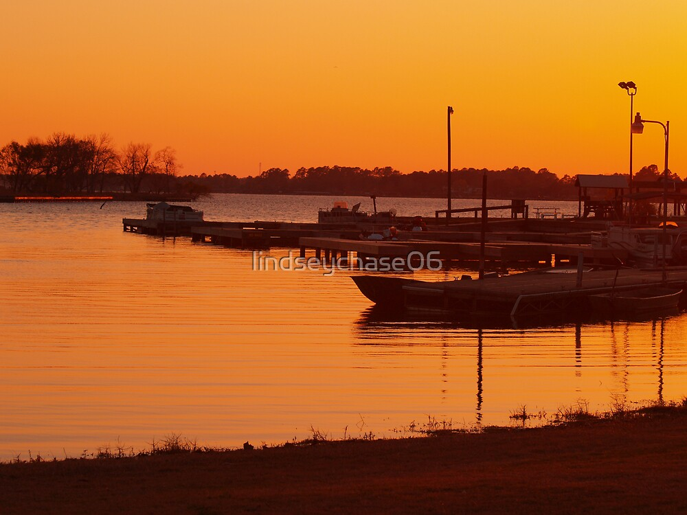 Boats at Sunset by lindseychase06