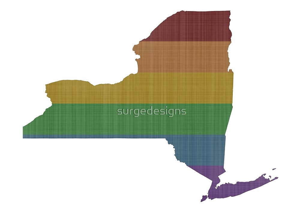 New York Rainbow Gay Pride by surgedesigns