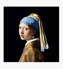 Girl with a Pearl Earring - Jonah Vermeer Photographic Print