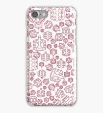 Red Biking Pedals iPhone Case/Skin