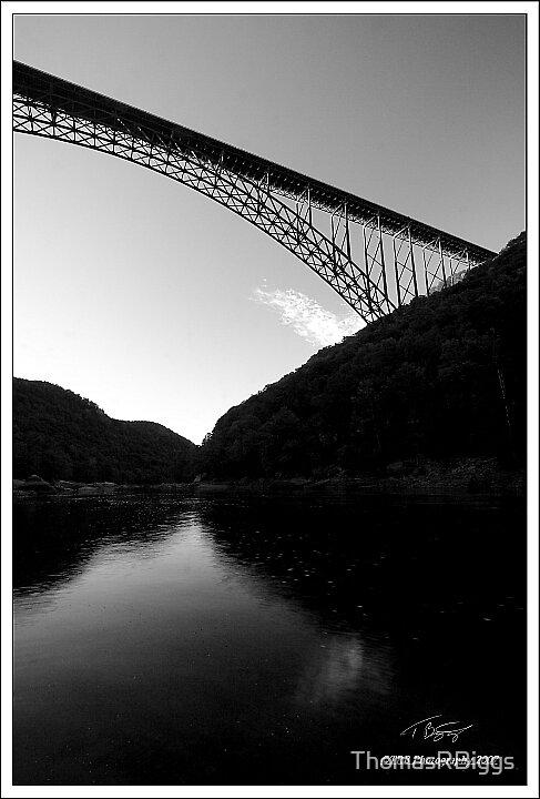 New River Gorge Bridge by ThomasRBiggs