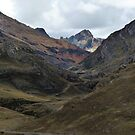 Andean Valley - Cordillera Central, Peru by Rebel Kreklow