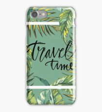 Travel time iPhone Case/Skin