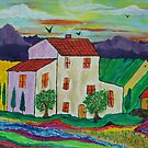 Villa in Tuscany by George Hunter