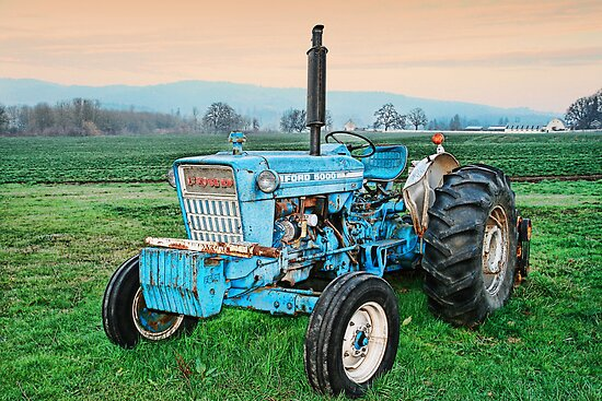 The Ford Tractor by Deri Dority