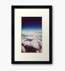 Space is Gay Framed Print