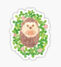 Hedgehog in cloverfield Sticker