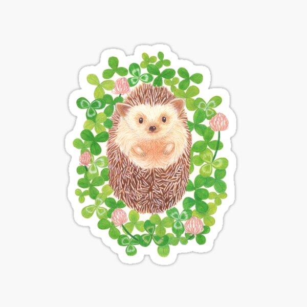 Hedgehog in cloverfield Sticker