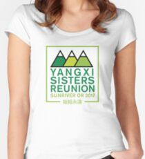 Yangxi Reunion 2017 Women's Fitted Scoop T-Shirt