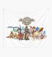 Monster Group Photo Wall Tapestry