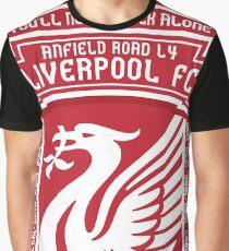Liverpool FC - Alternate Badge, Logo Graphic T-Shirt