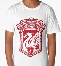 Liverpool FC - Alternate Badge, Logo Long T-Shirt