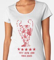 Liverpool FC - Champions League Winners Women's Premium T-Shirt