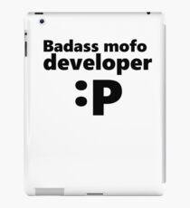 Badass mofo developer iPad Case/Skin