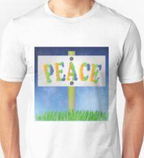 pease sign Unisex T-Shirt