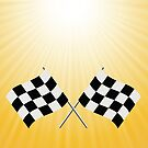 checkered flags by valeo5
