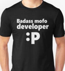 Badass mofo developer Unisex T-Shirt