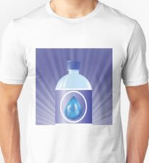plastic bottle with water T-Shirt