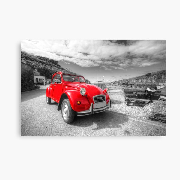 Cornish 2CV  Canvas Print