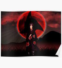 Sasuke - Naruto Uchiha Poster