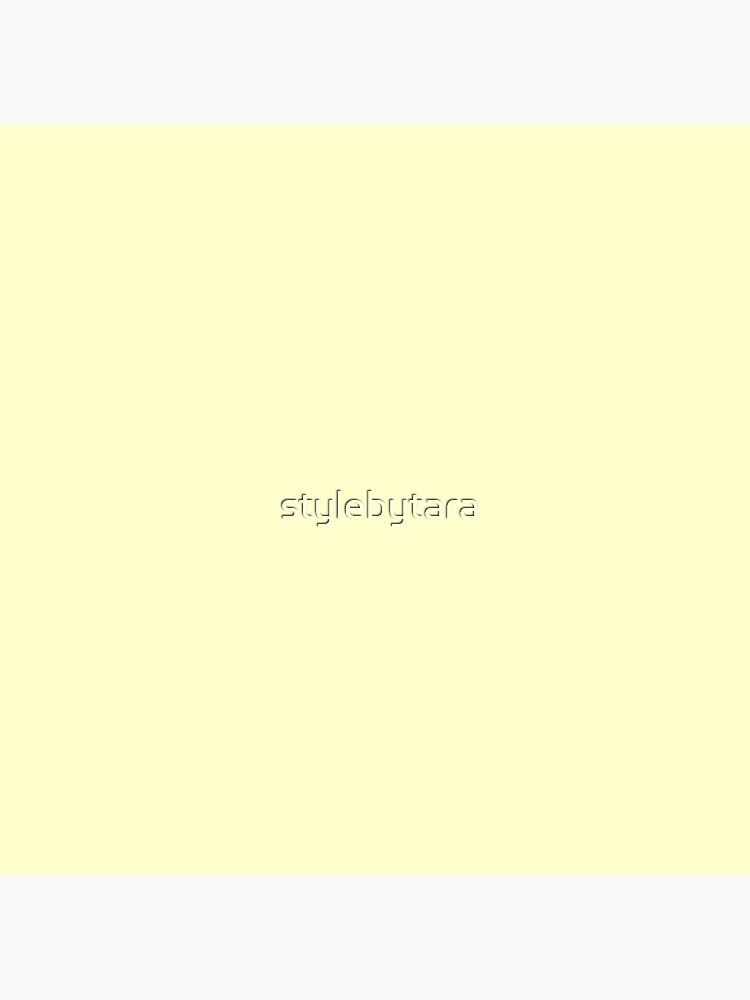 Pastel Color - Very Pale Yellow by stylebytara