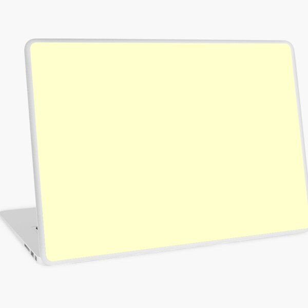 Pastel Color - Very Pale Yellow Laptop Skin