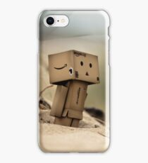 Revoltech Danboard at the Beach iPhone Case/Skin