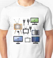 set of tv Unisex T-Shirt