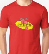 Kamekona's Shrimp Logo (Outline) Unisex T-Shirt