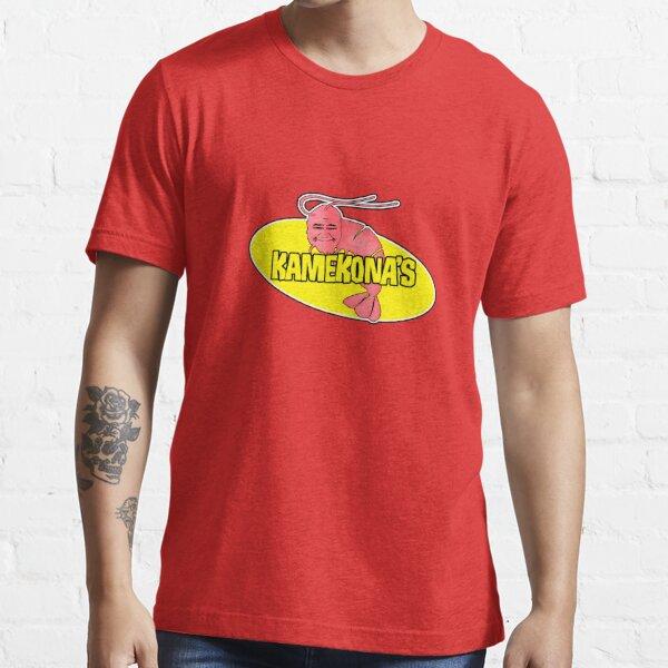 Kamekonas Shrimp-Logo (Umriss) Essential T-Shirt