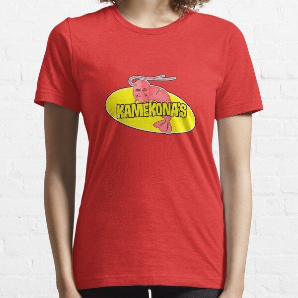 Logotipo de camarones de Kamekona (esquema) Camiseta esencial