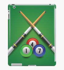 billiard icon iPad Case/Skin