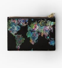 world map mandala 8 Studio Pouch