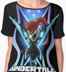 Undyne the Undying - Undertale Chiffon Top