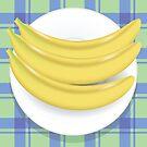 yellow bananas by valeo5