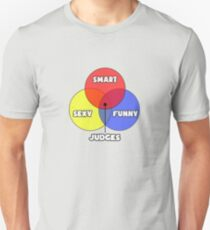 Venn Diagram ... Judge Humor Unisex T-Shirt