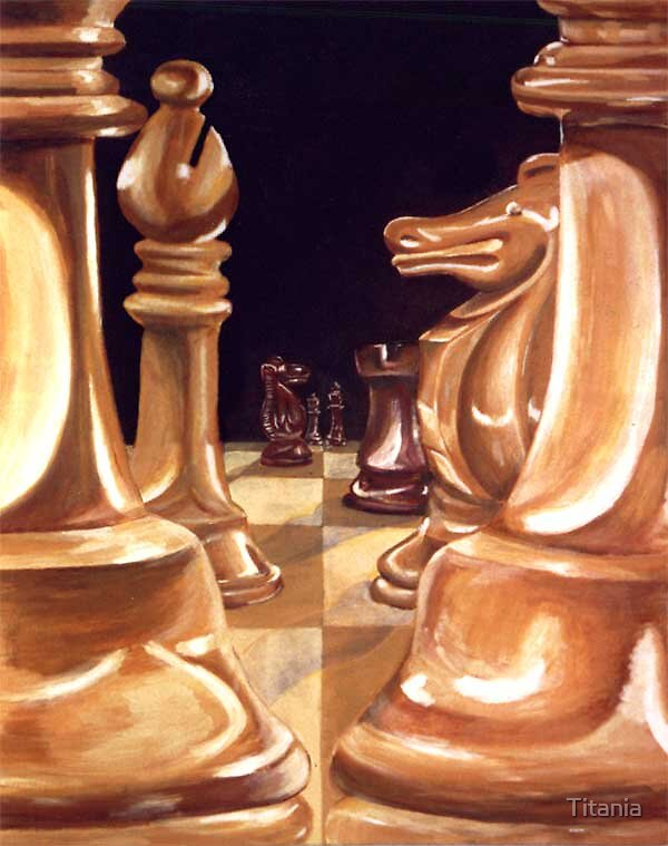 Chessmen by Titania