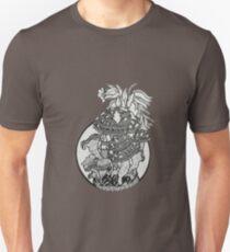 mushroom zentangle Unisex T-Shirt