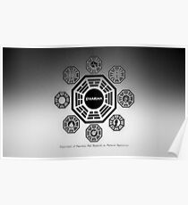Lost - Dharma Initiative's Stations Poster