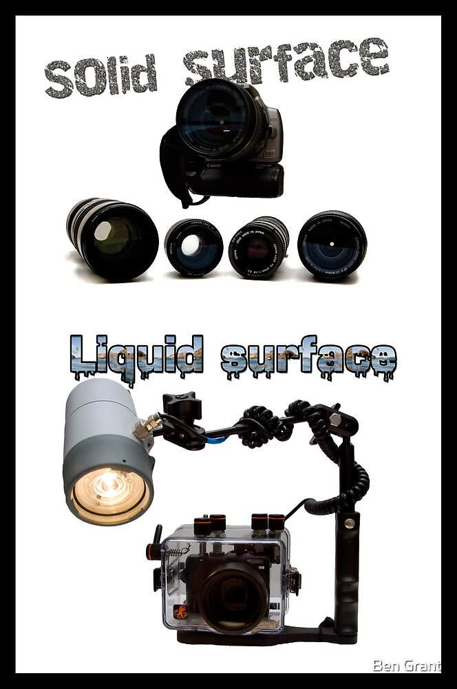 Camera gear by Ben Grant