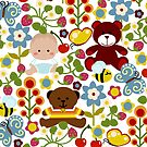 Spring Pattern by Sonia Pascual