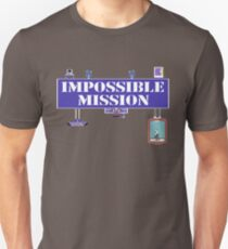Gaming [C64] - Impossible Mission Unisex T-Shirt