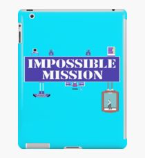 Gaming [C64] - Impossible Mission iPad Case/Skin