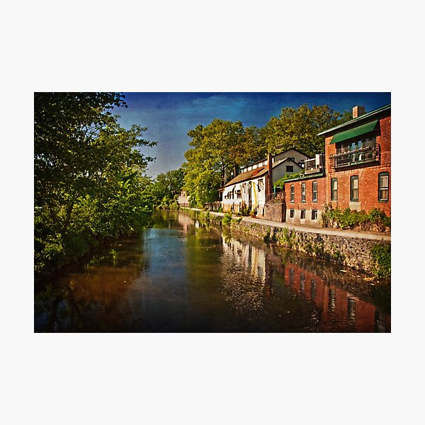 Canal along the Porkyard Photographic Print