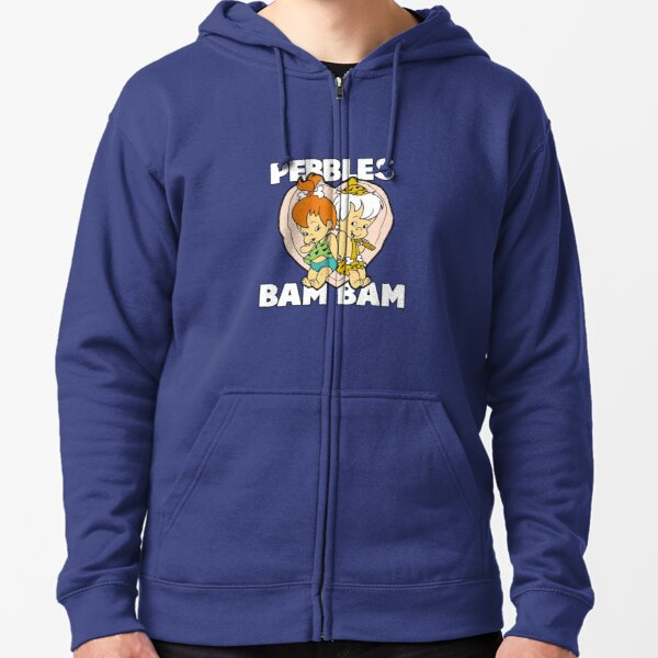 Pebbles and Bamm-Bamm Show - Flintstones Zipped Hoodie