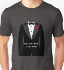 The Name's Bond, James Bond Unisex T-Shirt