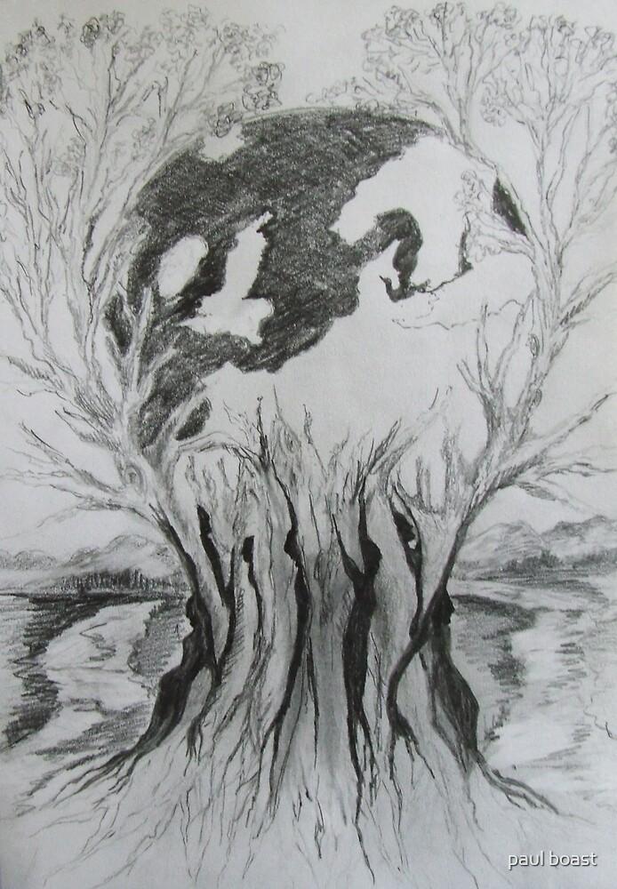 Birth of the Earth by paul boast