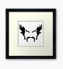 HeiHachi Mishima Tekken Black Framed Print