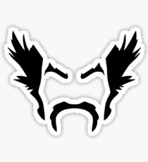 HeiHachi Mishima Tekken Black Sticker